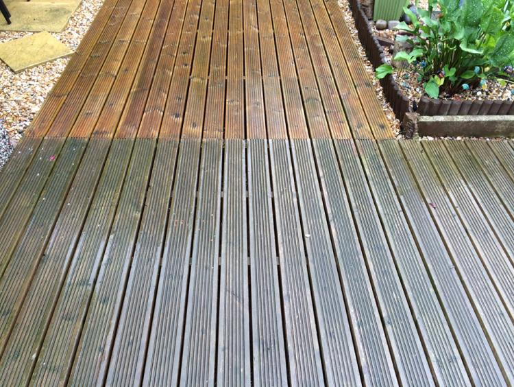 Decking Cleaning Nottingham 1